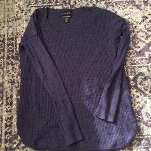 Like New! Cynthia Rowley Merino Wool Navy Sweater